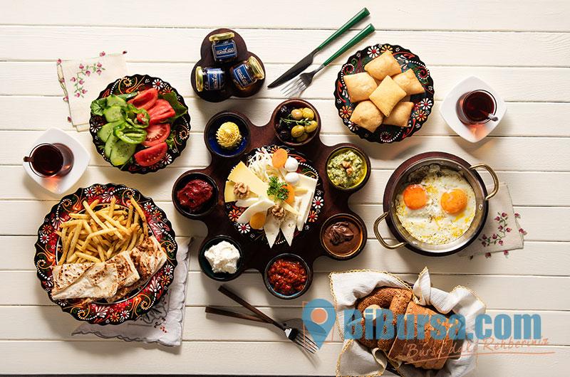 Nilüfer Serpme Kahvaltı Mekanları- Bursa Kahvaltı Yerleri