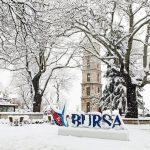 Bursa'da kar manzarası eşliğinde yapılacak şeyler