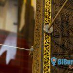 Ulucamii'nin dünyaca ünlü minberine çivili koruma